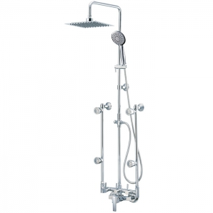 Spa shower Faucet (Two Sides Splash Tube)